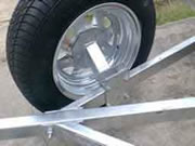 Spare Wheel Carrier Bracket