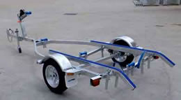 Trailer for aluminium boats up to 4.4M